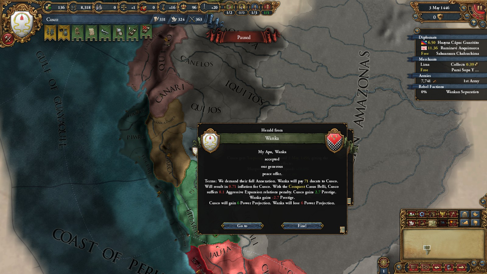 A Sun God Part One, Forming Inca | NTPGamer