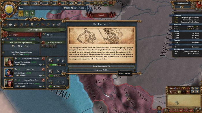 Incan Events Prior Westernization | NTPGamer