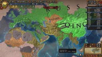 Using consoles to make Qing the most advance nation in the world